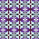 Patterned Body Paint Collection Passion For Purple by LouisaCatharine