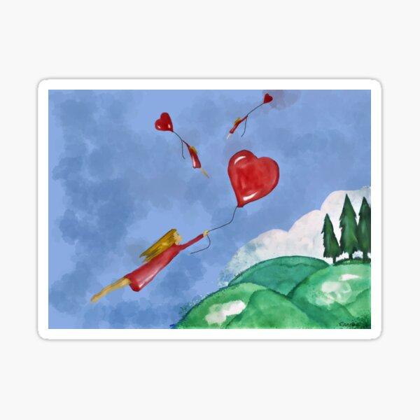 L'amour te laisse planer Sticker