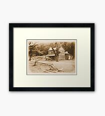 """""""Philip's Place, from the Fence Line""""... prints and products Framed Print"""