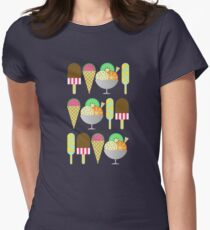 Gelato Womens Fitted T-Shirt