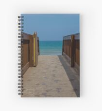 Beach Bridge Spiral Notebook