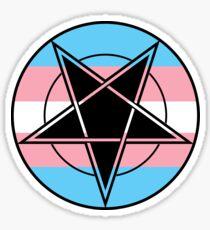Pentagram Pride [TRANS] Sticker