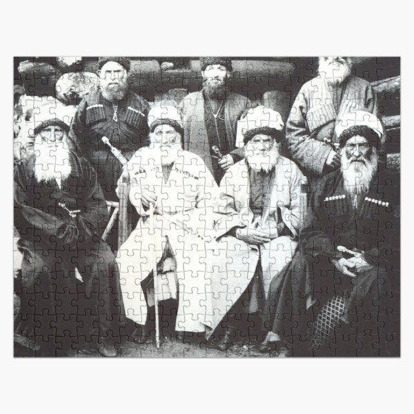 #Karachays #Къарачайлыла #Qaraçaylıla #Balkars #Malqarlıla #tawlula #TurkicPeople #Caucasus #Balkaria #KarachayBalkar #Kipchak #Turkic #Ki︠a︡zim #Mechiev #Балкарцы #малкъарлыла #таулула Jigsaw Puzzle