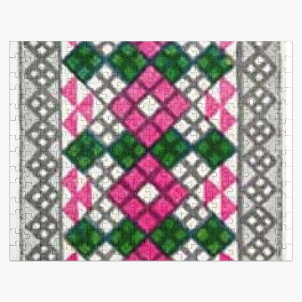 #Ковровый #узор #балкарского #карачаевского #войлочного #ковра #Carpet #pattern of a #Balkarian & #Karachay #felt #carpet #Ковровыйузор #CarpetPattern #таулу #tawlu #mountaineer #таулула #tawlula Jigsaw Puzzle