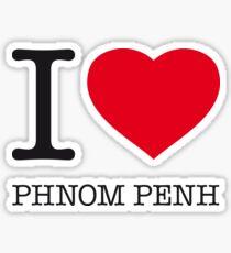 I ♥ PHNOM PENH Sticker