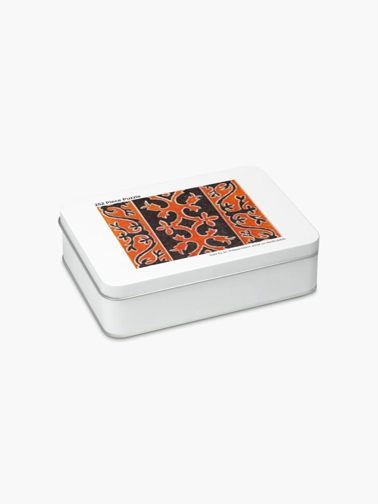 Alternate view of #Ковровый #узор #балкарского #карачаевского #войлчного #ковра #Carpet #pattern of a #Balkarian #Karachay #felt #carpet #Ковровыйузор #CarpetPattern #таулу #tawlu #mountaineer #таулула #tawlula Jigsaw Puzzle