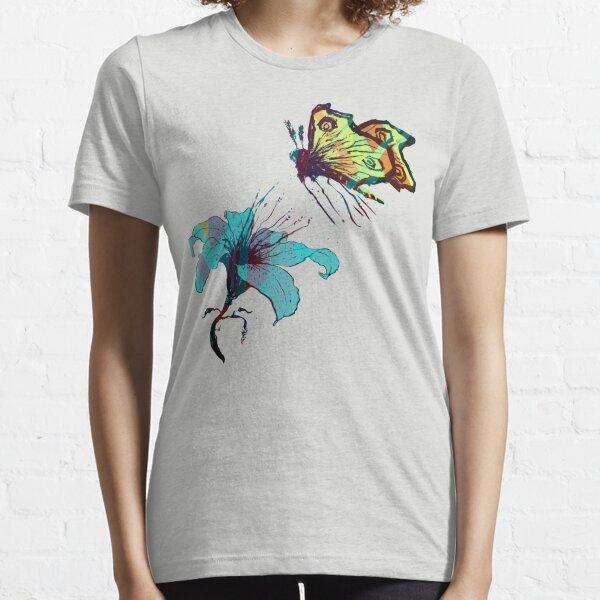 Moth on flower Essential T-Shirt