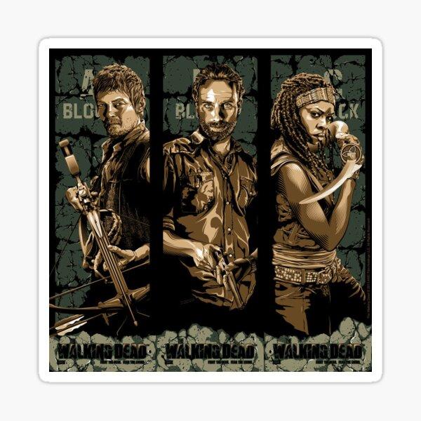 The Walking Dead Sticker Sticker
