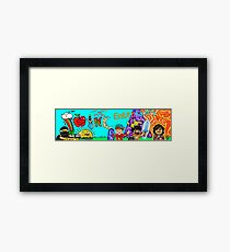 SYNC Good Ol' Days Gaming Framed Print