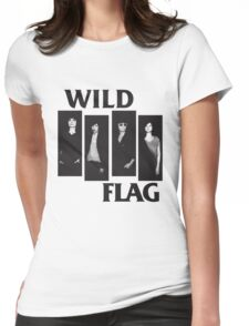 wild flag weiss carrie brownstein Womens Fitted T-Shirt