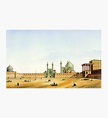 Pascal Coste's depiction of Naqsh-e Jahan Square, Isfahan Photographic Print