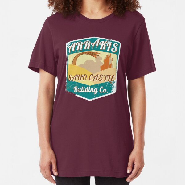 ARRAKIS SAND CASTLE BUILDING COMPANY  Slim Fit T-Shirt