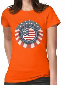 Independence day! Womens Fitted T-Shirt