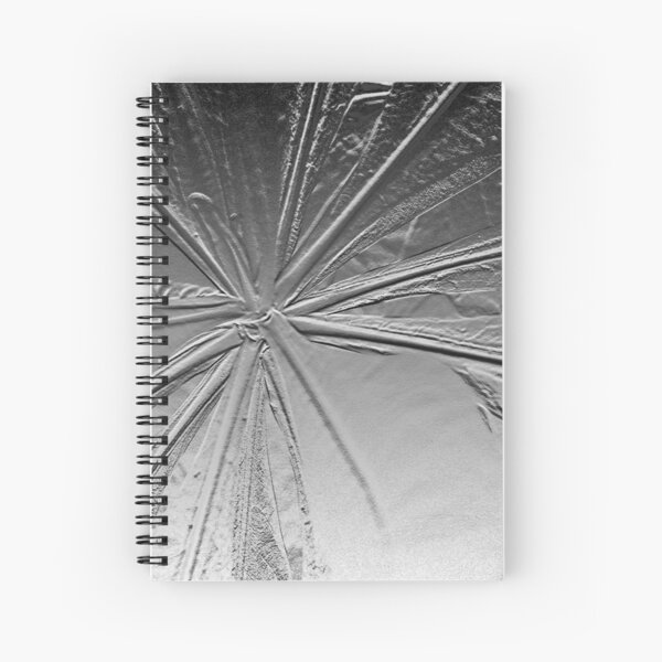 Scaevola Taccada Argentu Spiral Notebook