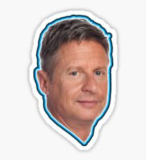 Gary Johnson Libertarian President 2016 Sticker