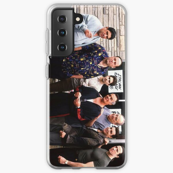The Sopranos Satriale's Group Picture - Brush Strokes Samsung Galaxy Soft Case