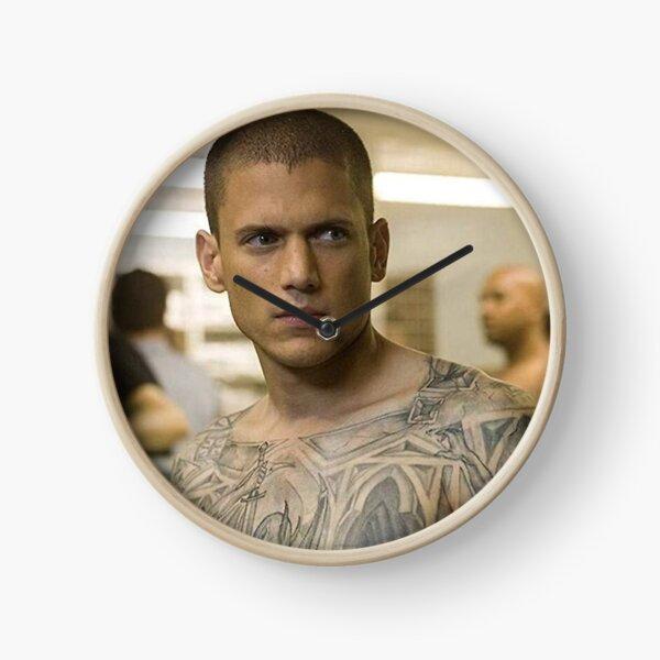 Michael Scofield Prison Break Poster Horloge