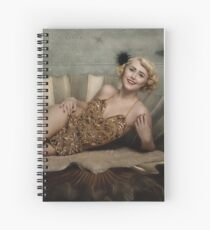 The birth of venus -in vintage showgirl style- no.2 Spiral Notebook