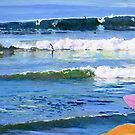 Surfing Picture San Diego California by Riccoboni by RDRiccoboni