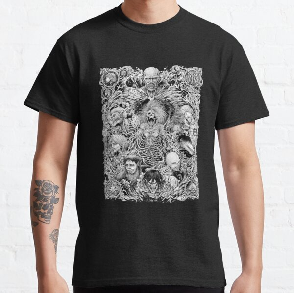 Shingeki no kyojin Camiseta clásica