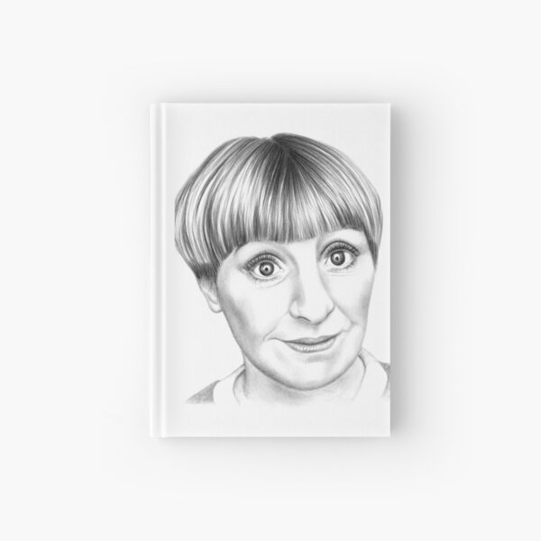 Victoria Wood Hardcover Journal