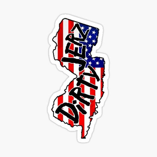 New Dirty Jerz Sticker