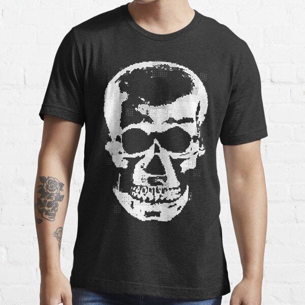Pixel Skull Essential T-Shirt