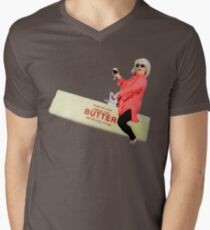 Paula deen riding butter Men's V-Neck T-Shirt