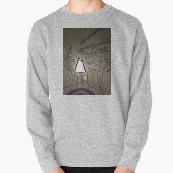 GHOST CAT Pullover Sweatshirt