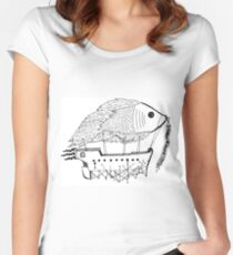 Fish & Ships Women's Fitted Scoop T-Shirt