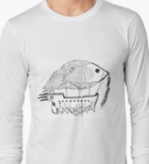 Fish & Ships Long Sleeve T-Shirt