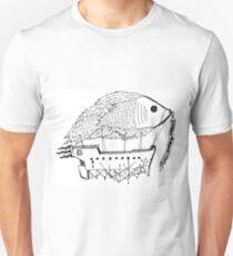 Fish & Ships Unisex T-Shirt