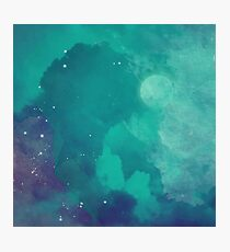 Night sky [watercolor] Photographic Print