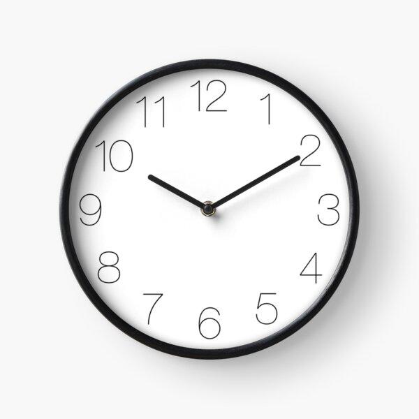 Minimalist Clock Clock