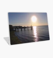 West Wight Sunset Laptop Skin
