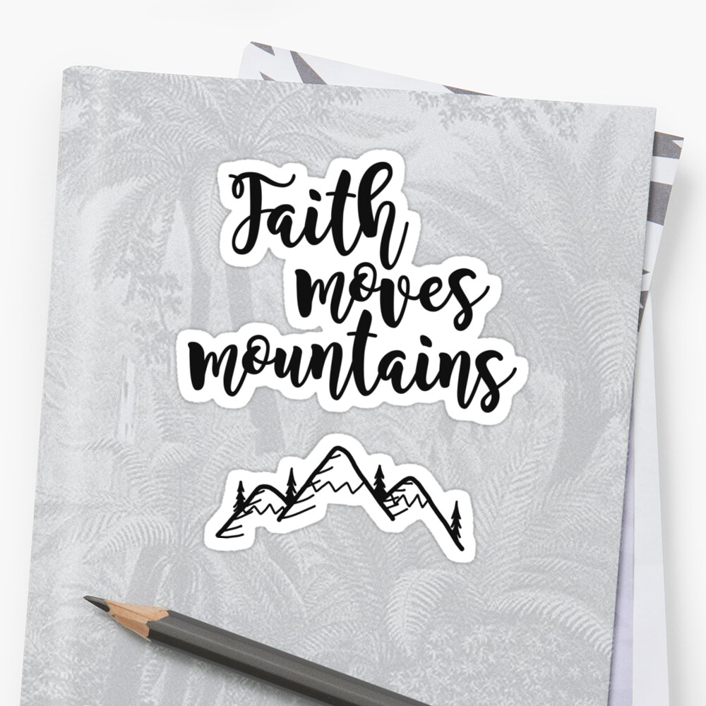 Faith Quote by Bethel Store