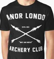 ANOR LONDO - ARCHERY CLUB Graphic T-Shirt
