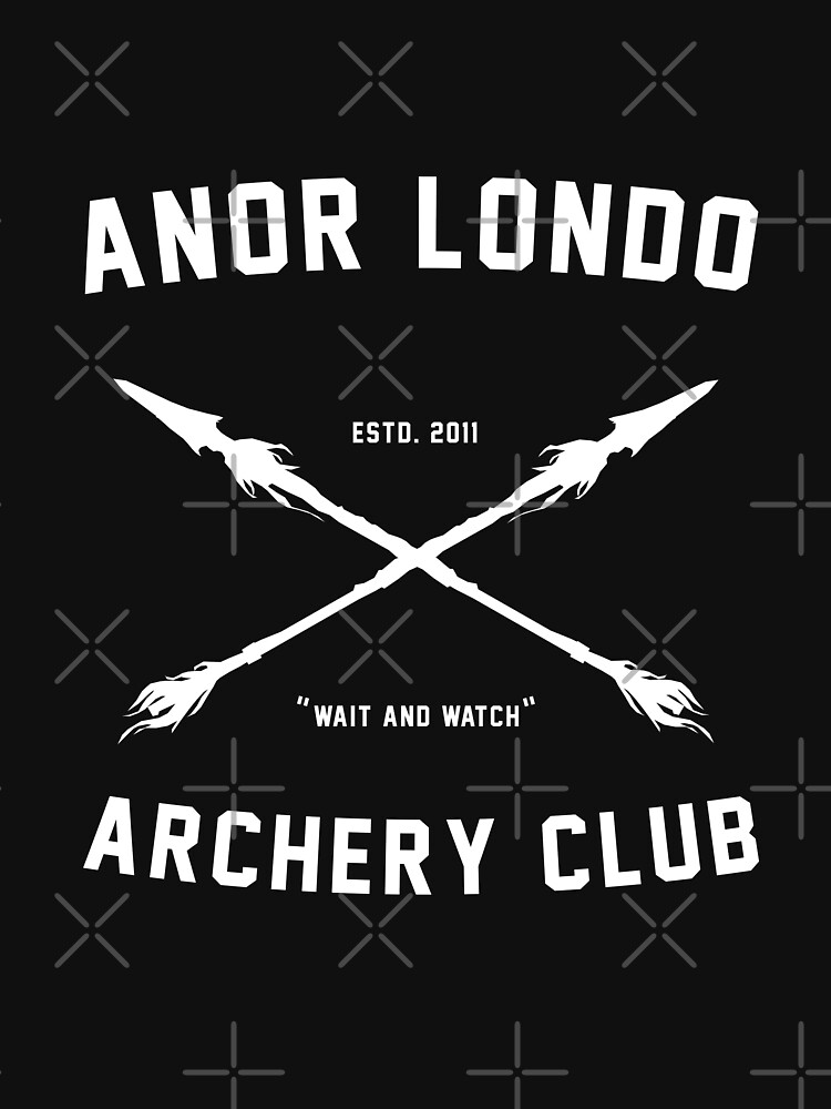 ANOR LONDO - ARCHERY CLUB | Unisex T-Shirt