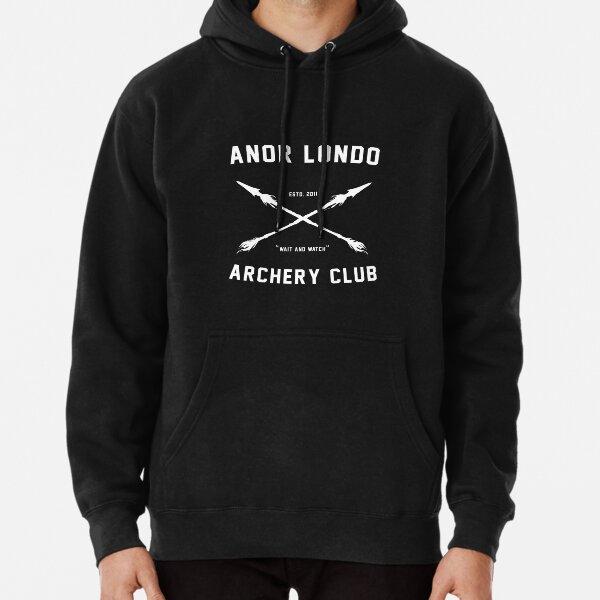 ANOR LONDO - CLUB DE TIR À L'ARC Sweat à capuche épais