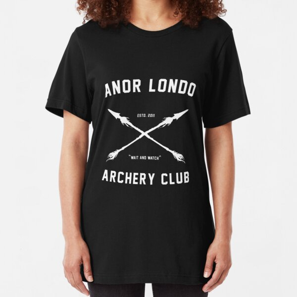 ANOR LONDO - ARCHERY CLUB Slim Fit T-Shirt