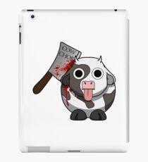 Cow Chop Bloody Knife iPad Case/Skin