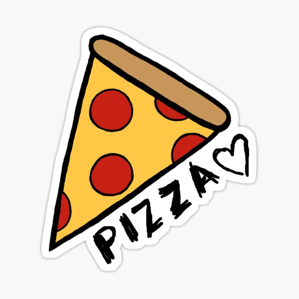 Pizza ♡ Sticker