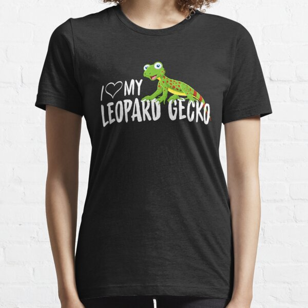 I Love My Leopard Gecko for Reptile Lovers Essential T-Shirt