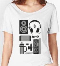 Studio Objects Vector Illustration Women's Relaxed Fit T-Shirt