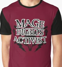 Mage Rights Activist Graphic T-Shirt