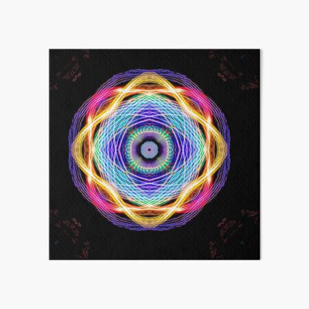 Abstraction in Light 12 Art Board Print