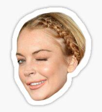 Lindsay Lohan Sticker