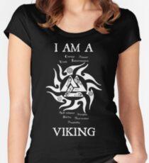 I am a Viking (valknut) 2 Women's Fitted Scoop T-Shirt