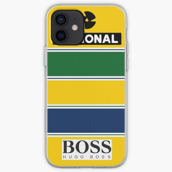 Ayrton Senna F1 1991 Coque souple iPhone