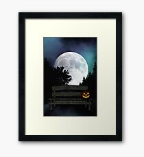 Halloween Night Framed Print